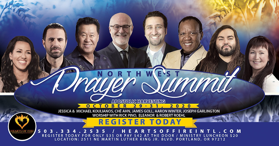 Aaron Winter Prayer Summit 2020 facebook