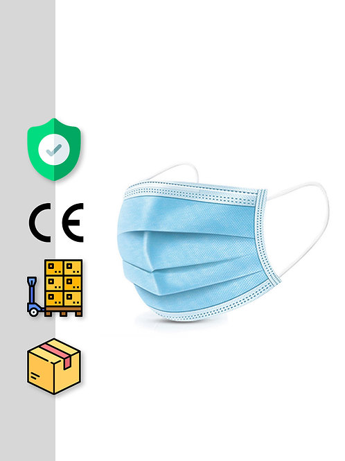 3-Lagen-Einwegmaske