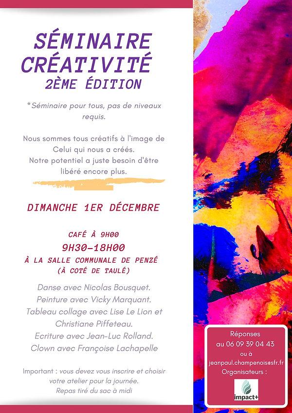 Séminaire Créativité 2ème édition (1) (1