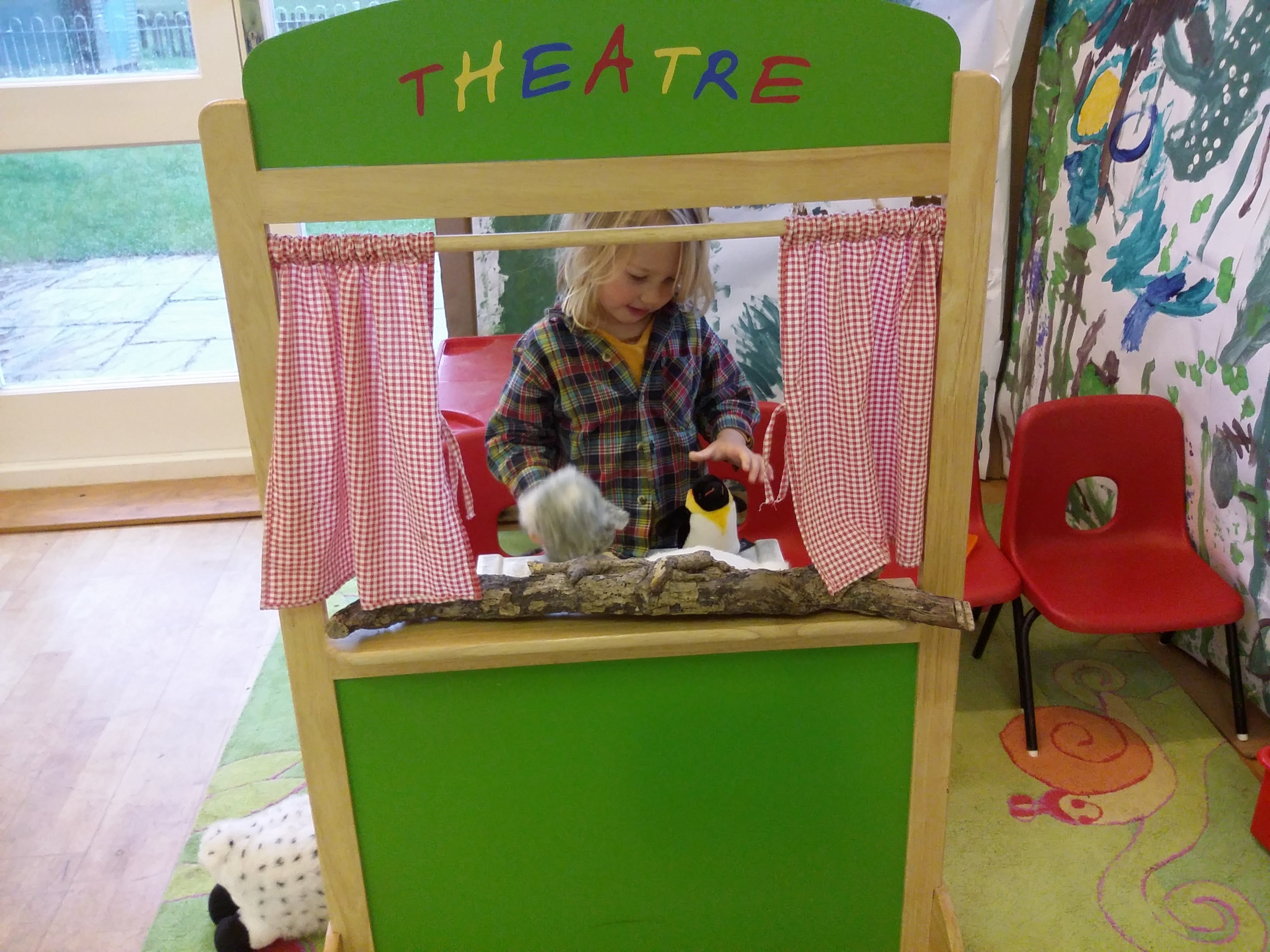 Creating a woodland story