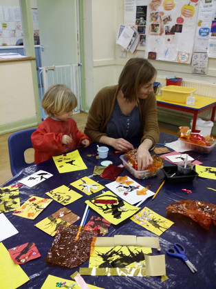Chinese New Year comes to Horsley Playgroup