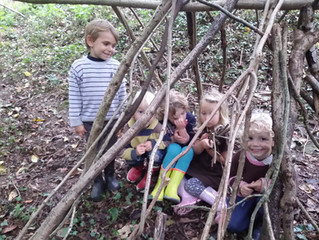 Outdoor Play - the best classroom and the richest cupboard!