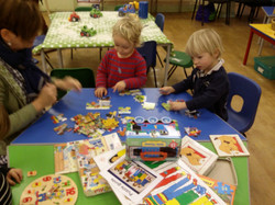 Being involved in puzzle work