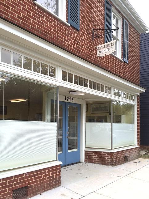 1216 Caroline Street John Burger Architect Office