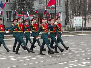 День призывника в Люберецком районе.