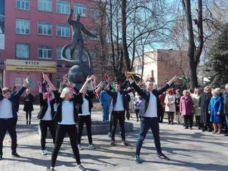 12 апреля в Люберцах состоялся торжественный митинг, посвященный 55-годовщине первого полета человек