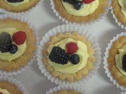 Vanilla Cream mini tart