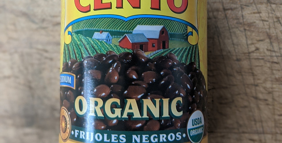 Organic Black Beans | 16 oz Can