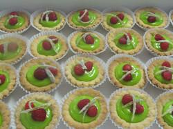 Lime Curd Mini Tart