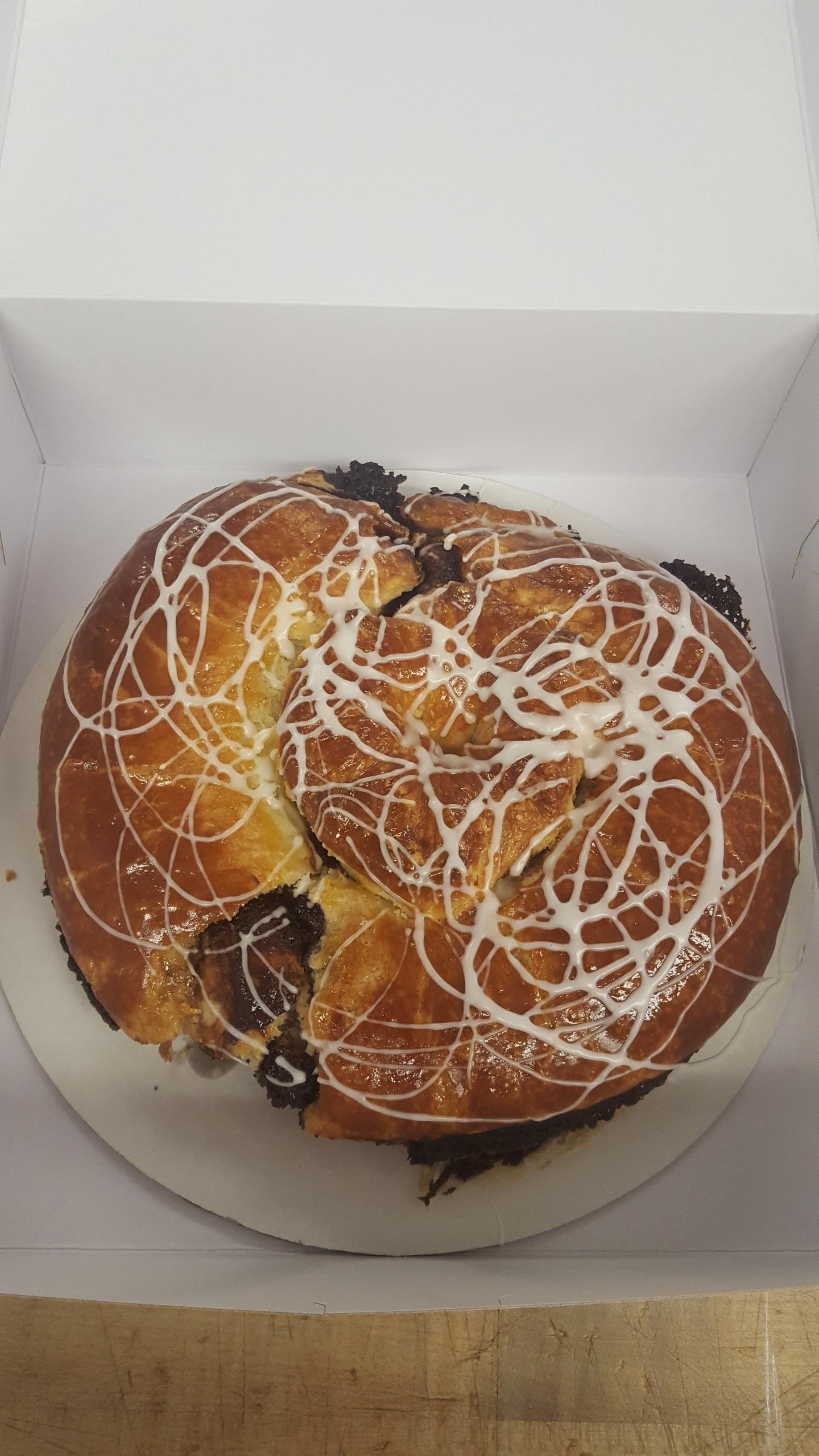 Chocolate Danish Ring