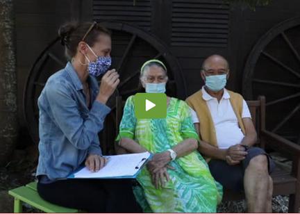 Interview des Dr Darjana mari et femme - Médecins de terrain