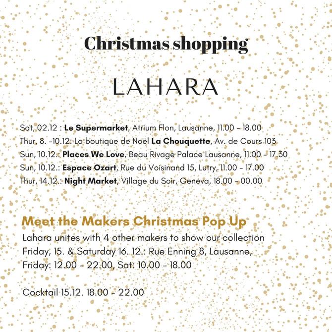 Christmas Shopping with Lahara