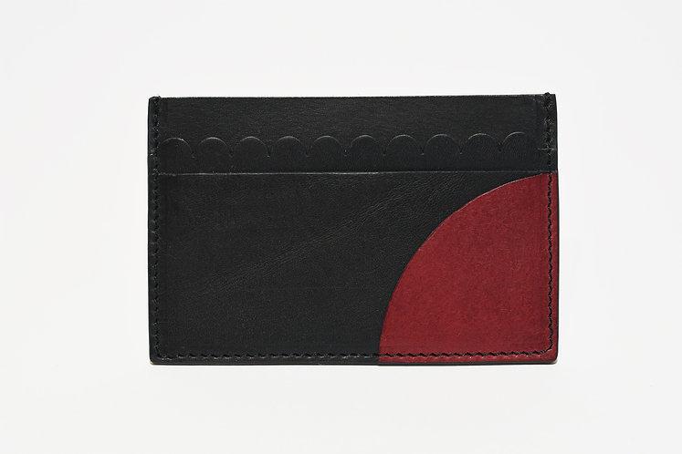 Sorrento Card Holder Nero