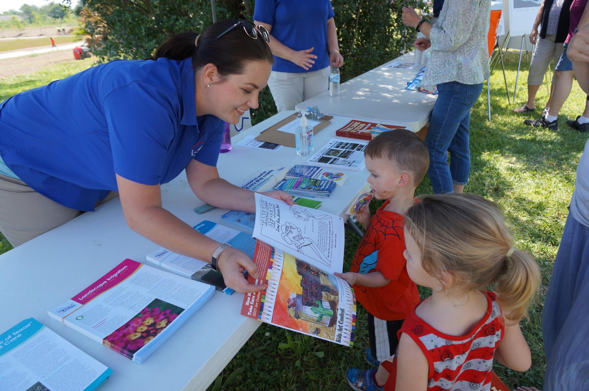 Kids enjoyed the many vendors