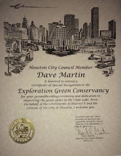 Proclamation from City Council