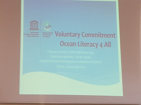 From one conference to another, across Europe in the name of Sail Training and Ocean Literacy.