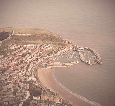 Aerial view of Scarborough harbour Image by Neil Douglas from Pixabay