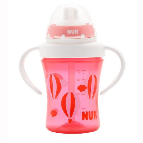 NUK プレミアムチョイス・ストローカップ/ピンク