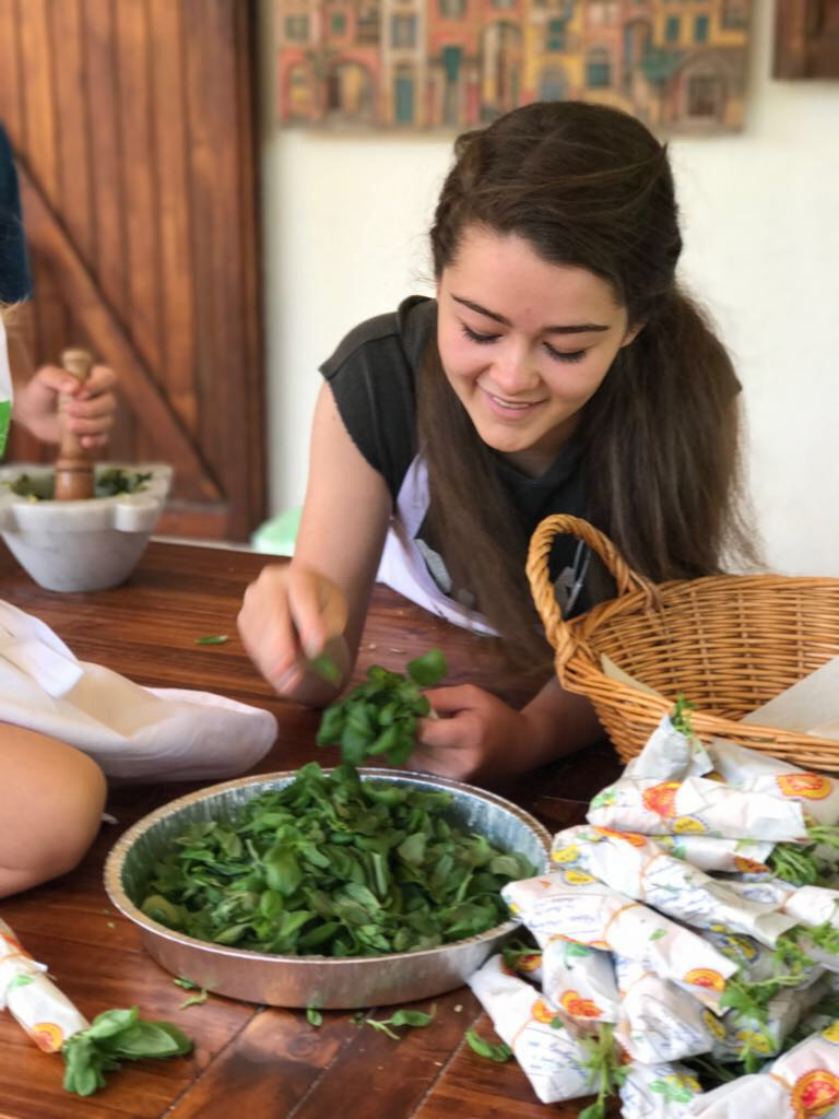 Selecting the Pesto