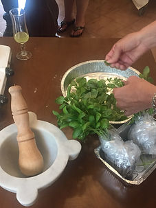 Cooking lessons Monterosso