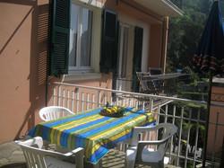 Balcony and shared terrace