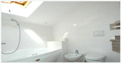 Jacuzzi bath and separate shower
