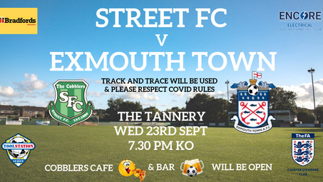 Cobblers Next Home Game 23/09/20
