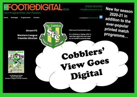 Cobblers Online  Programmes