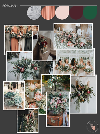 Wedding Styling Plan | Floral Plan | AKA Event Styling