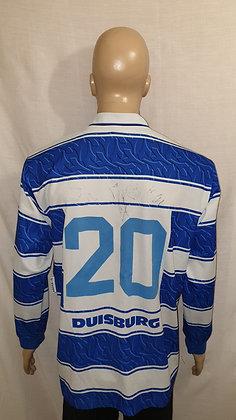 1996/97 MSV Duisburg Long Sleeved Home Shirt (Signed)
