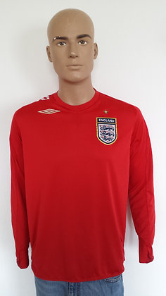 2006-2007 England L/S Away Shirt