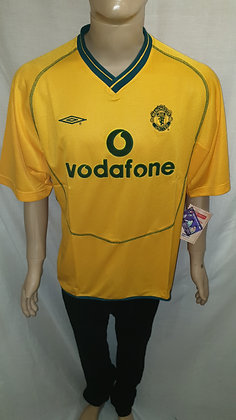 2000/01 Manchester United Away Goalkeeper Shirt (Brand New with Tags)