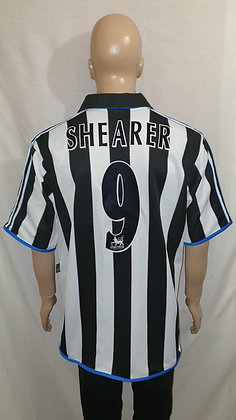 1999/00 Newcastle United Home Shirt SHEARER 9