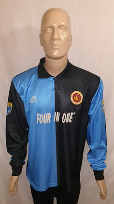 1996/97-1997/98 Stenhousemuir Long Sleeved Away Shirt (Match Worn)