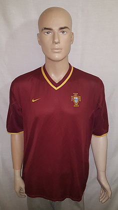 2000-2001 Portugal Home Shirt