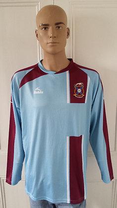 2009/10 Limavady United L/S Away Shirt: BNWT