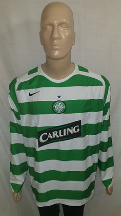 2006/07 Celtic Player Issue Home European Shirt (Brand New without Tags)