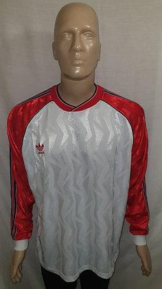 1990/91-1991/92 Adidas Long Sleeved Shirt: Size 48/50