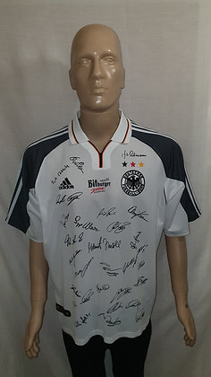 2000-2001 Germany Home Shirt (Signed)