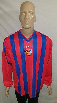 2000/01 FC Basel 1893 Long Sleeved Home Shirt