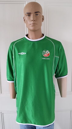 2001-2002 Ireland Player Issue Home Shirt