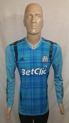 2010/11 Olympique de Marseille Long Sleeved Away Shirt (Player Version)