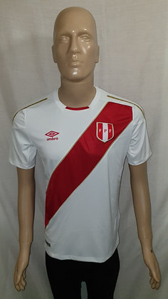 2018 Peru Home Shirt (Brand New with Tag)