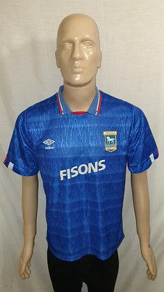 1989/90-1991/92 Ipswich Town Home Shirt