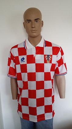 1996-1997 Croatia Home Shirt: Size L