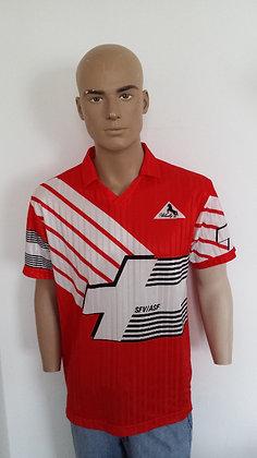 1990-1991 Switzerland Home Shirt: Size 4