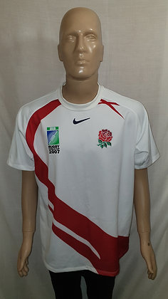 2007 England Rugby World Cup Home Shirt