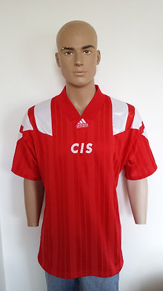 "1992-1993 CIS Home Shirt: Size 42""-44"""
