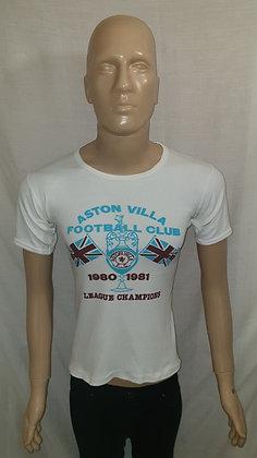 Aston Villa 1980/81 League Champions T-Shirt