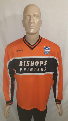 2000/01-2001/02 Portsmouth Long Sleeved 3rd Shirt
